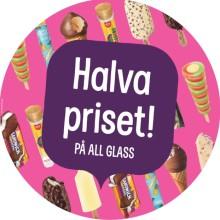 På måndag börjar Pressbyråns glassfest – i år också med ett nytt glasskoncept med fokus på hälsa och välmående.