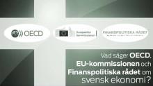 Pressinbjudan: Tre tungviktare om svensk ekonomi – Vad säger OECD, EU-kommissionen och Finanspolitiska rådet?