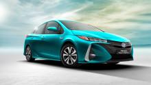 Världspremiär i New York för nya Prius laddhybrid