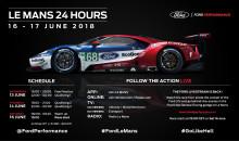 Ford je připraven na svůj dosud nejnáročnější závod 24 h Le Mans