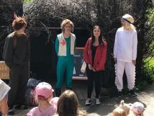 Premiär för nyskriven barnteater i Skogsmulleriket på Billingen
