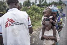 Fördrivna fast i strider i Nord-Kivu