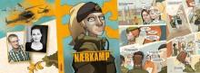 """Romanen """"Fittekvote"""" er blitt tegneserien """"Nærkamp"""". Velkommen til lansering!"""