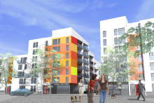 Byggstart för 170 lägenheter i det största hyresrättsprojektet i Östra Sala Backe