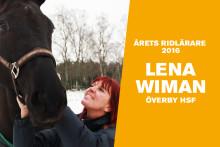 Lena Wiman är Årets ridlärare