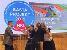 Sveriges nöjdaste kunder bor i BoKlok Tornseglaren, Höganäs