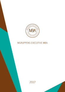 Programblad Mgruppen Executive MBA