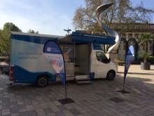 Beratungsmobil der Unabhängigen Patientenberatung kommt am 14. August nach Neustadt an der Weinstraße.