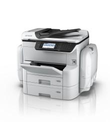 Epson WF-C869RDTWF gir store miljøfordeler og opptil 84 000 utskrifter før du må bytte tilbehør