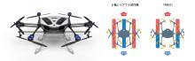 """産業用ドローン「YMR-01」を次世代農業EXPOに展示 優れた薬剤散布性能に貢献する""""二重反転ローター""""採用"""