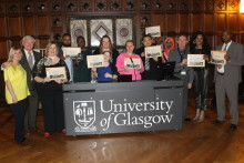 Graduation Day for Activate students from North Glasgow​