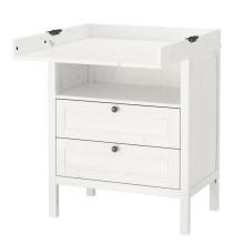 IKEA uppmanar ägare av SUNDVIK skötbord/byrå att kontrollera att möbeln är riktigt monterad