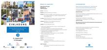 Programm Brandenburgischer Tourismustag und Sparkassen-Tourismusbarometer