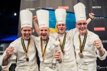 Silver till Sverige världsfinalen i Bocuse d'Or