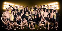 18 lag i medaljkamp i SM i truppgymnastik under SM-veckan i Halmstad 5 - 6 juli 2013
