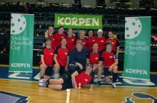 Regerande mästarna vidare till finalen i Sweden Floorball Cup