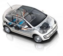 Fjärde gasbilen från Volkswagen – eco up! – prissatt och beställningsbar