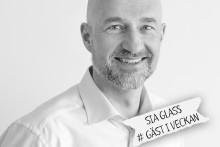 SIA Glass märker med Från Sverige – alltid svensk, färsk grädde i glassen
