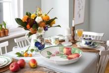 La collection intemporelle préférée des familles adopte un nouveau look moderne - Nouveaux décors French Garden : un vent frais et fruité souffle, aujourd'hui, sur l'envie de campagne