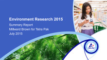 Summary Environment Research 2015