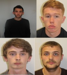 Professional gang of burglars jailed for a combined total of 23 years