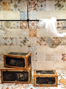 Kakeltrender 2015 - Nedtonat marockanskt mönster