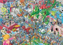Neues PLAYMOBIL-Wimmelbild vom Berliner Illustrator Christoph Hoppenbrock