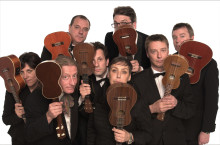 The Ukulele Orchestra of Great Britain Palladium 23 april