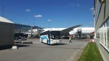 Flygbussarna transporterar tusentals fotbollsfans i samband med Europa League-finalen!