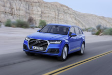 Nya Audi Q7 premiärvisas i Detroit