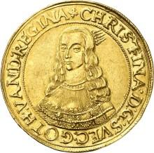 Svensk Guldmønt solgt på auktion for 120 000 euro