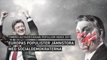 TIMBROS ÅRLIGA INDEX: EUROPAS POPULISTER JÄMNSTORA MED SOCIALDEMOKRATERNA