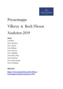 Pressemappe Cersaie 2018