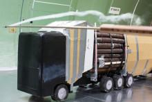 Pressinbjudan - Mer last och mindre utsläpp med nytt virkesfordon i Näsåker