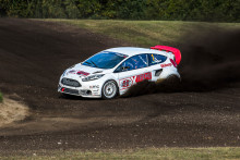 Eriksson i guldläge när RallyX Nordic ska avgöras i Norge