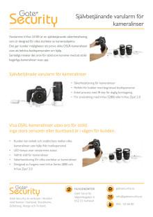 PDF: Självbetjänande varularm för kameralinser
