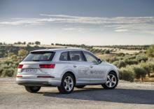 Sverigepremiär för supermiljöbilen Audi Q7 e-tron quattro i Almedalen