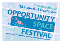 Invigning av Opportunity Space Festival