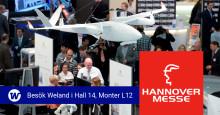 Weland ställer ut på Hannovermässan