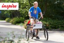 Tuhat pyöräkilometriä ystävyyden puolesta