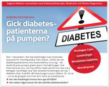 Almedalen: Gick diabetespatienterna på pumpen?