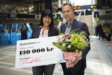 130 000 kronor till Sophia Djiobaridis för främjande av offentlig sparsamhet