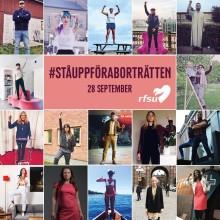 Efter valet: RFSU uppmanar Sveriges politiker att #ståuppföraborträtten