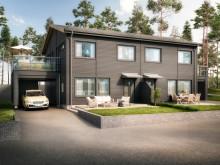 OBOS planerar för exklusiva parhus i Borensberg