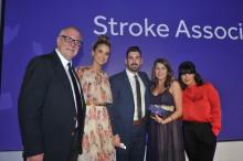 Kent stroke survivor wins national award
