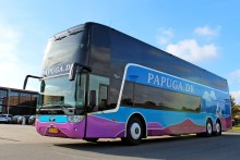 Danish Coach Award til Papuga A/S for Scania-bus