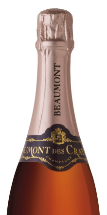 Nyhet! Champagne Beaumont des Crayères Grand Rosé Brut NV i beställningssortimentet!