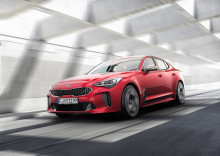 Verdenspremiere for Kia Stinger på North American International Auto Show