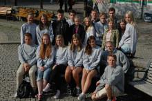 Sommarjobbarna på plats hos bostadsbolaget Förbo