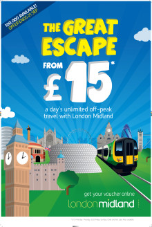 Plan your Great Escape - starts Tuesday 26 August